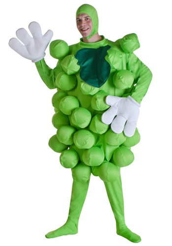 Green Grapes Bunch Costume