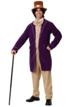 Plus Willy Wonka Candy Man Costume