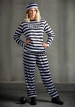 Plus Womens Prisoner Costume