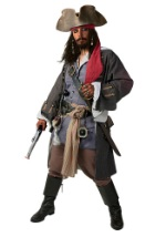 Plus Authentic Caribbean Pirate Costume