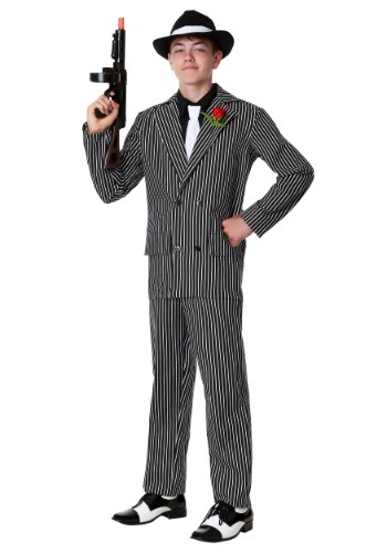 Teen Deluxe Gangster Suit Costume