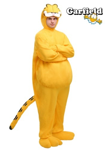 Plus Size Cartoon Garfield Costume