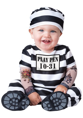Infant Time Out Prisoner Costume