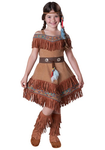 Child American Indian Maiden Costume