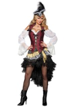 Sexy High Seas Pirate Captain Costume