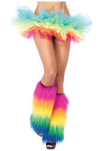 Fluffy Rainbow Organza Tutu