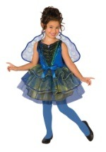 Girls Peacock Costume Dress