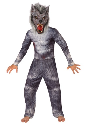Child Big Bad Werewolf Costume