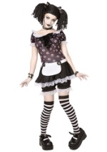 Plus Size Womans Gothic Rag Doll Costume