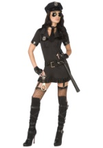 Ladies Sexy Bad Cop Costume