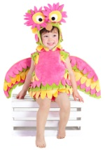 Toddler Colorful Owl Costume