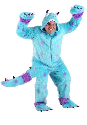 Plus Size Sully the Blue Monster Costume