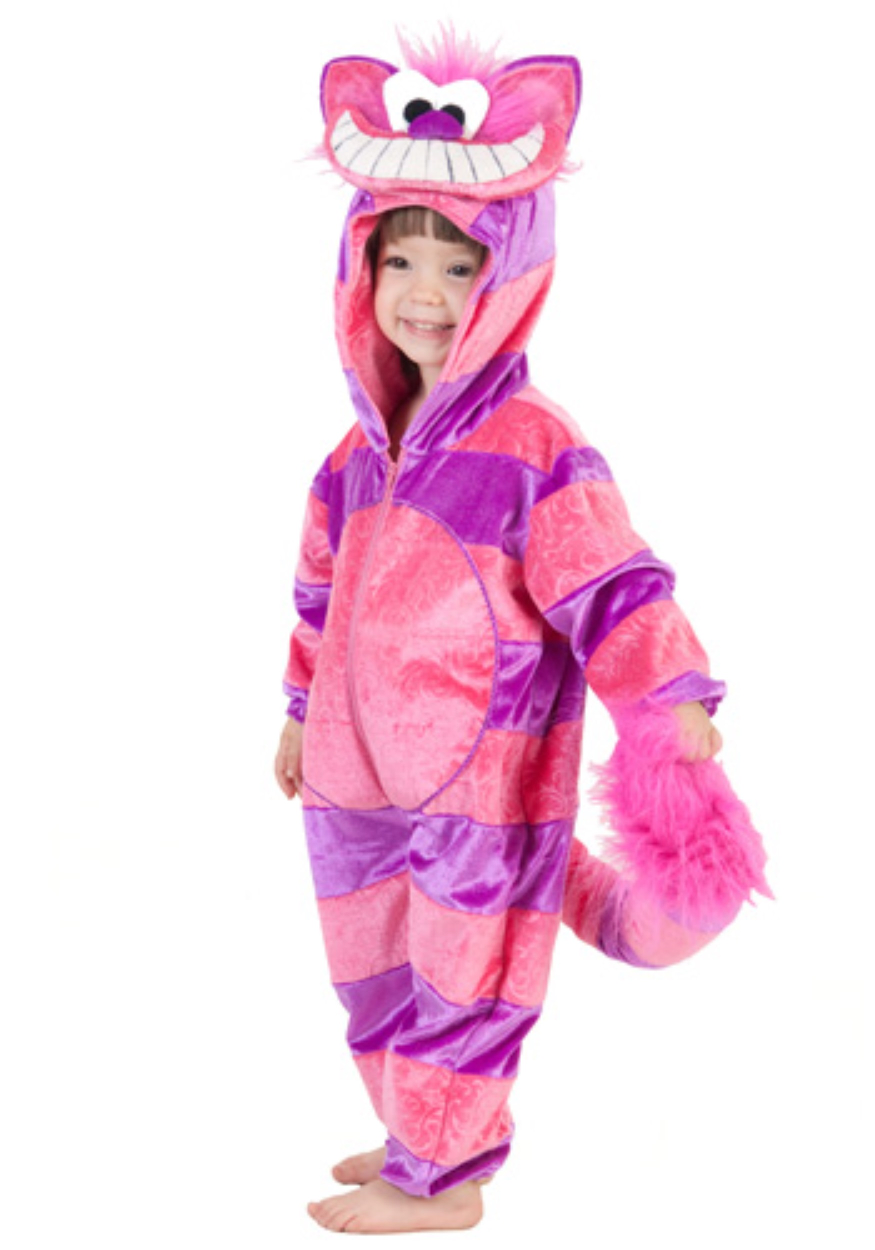 942a0dbc1a2 Toddler Storybook Cheshire Cat Jumpsuit