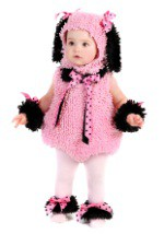 Baby Pink Poodle Puppy Costume