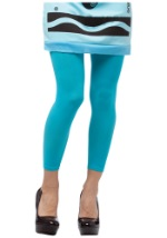 Womens Sky Blue Crayola Crayon Leggings