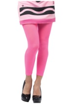 Womens Tickle Me Pink Crayola Crayon Leggings