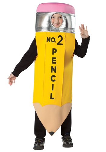 Kids School Pencil Costume