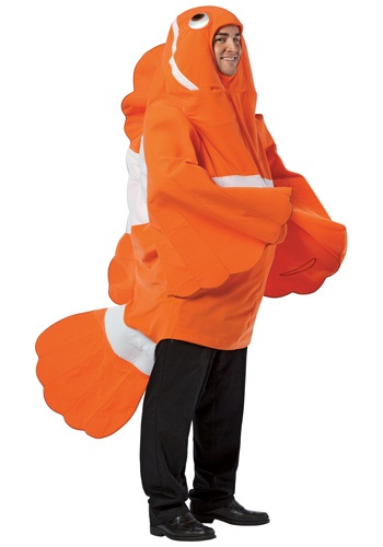 Adult Funny Clownfish Costume