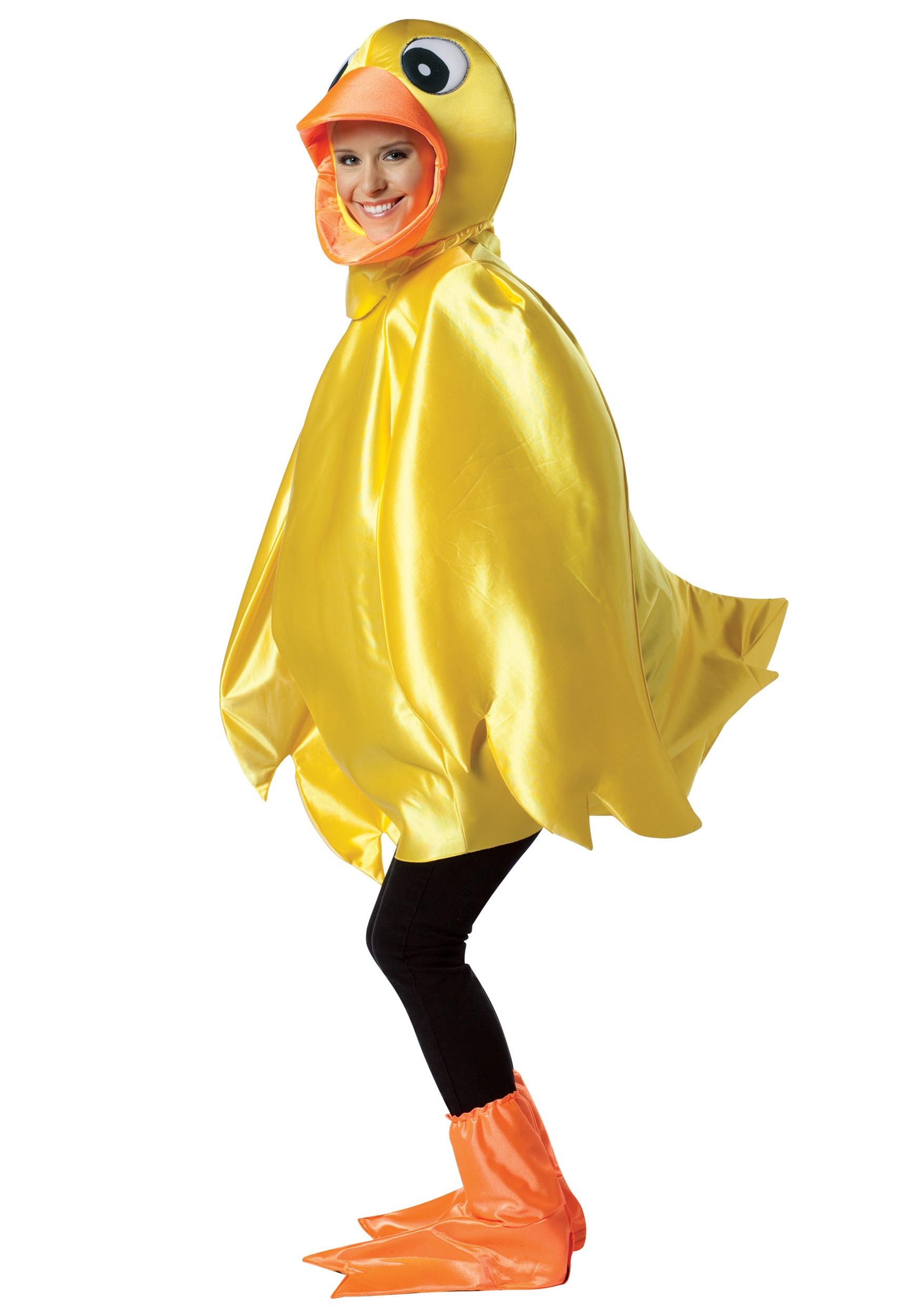 Adult Ducky Costume  sc 1 st  Halloween Costume & Adult Ducky Costume - Funny Animal Costumes