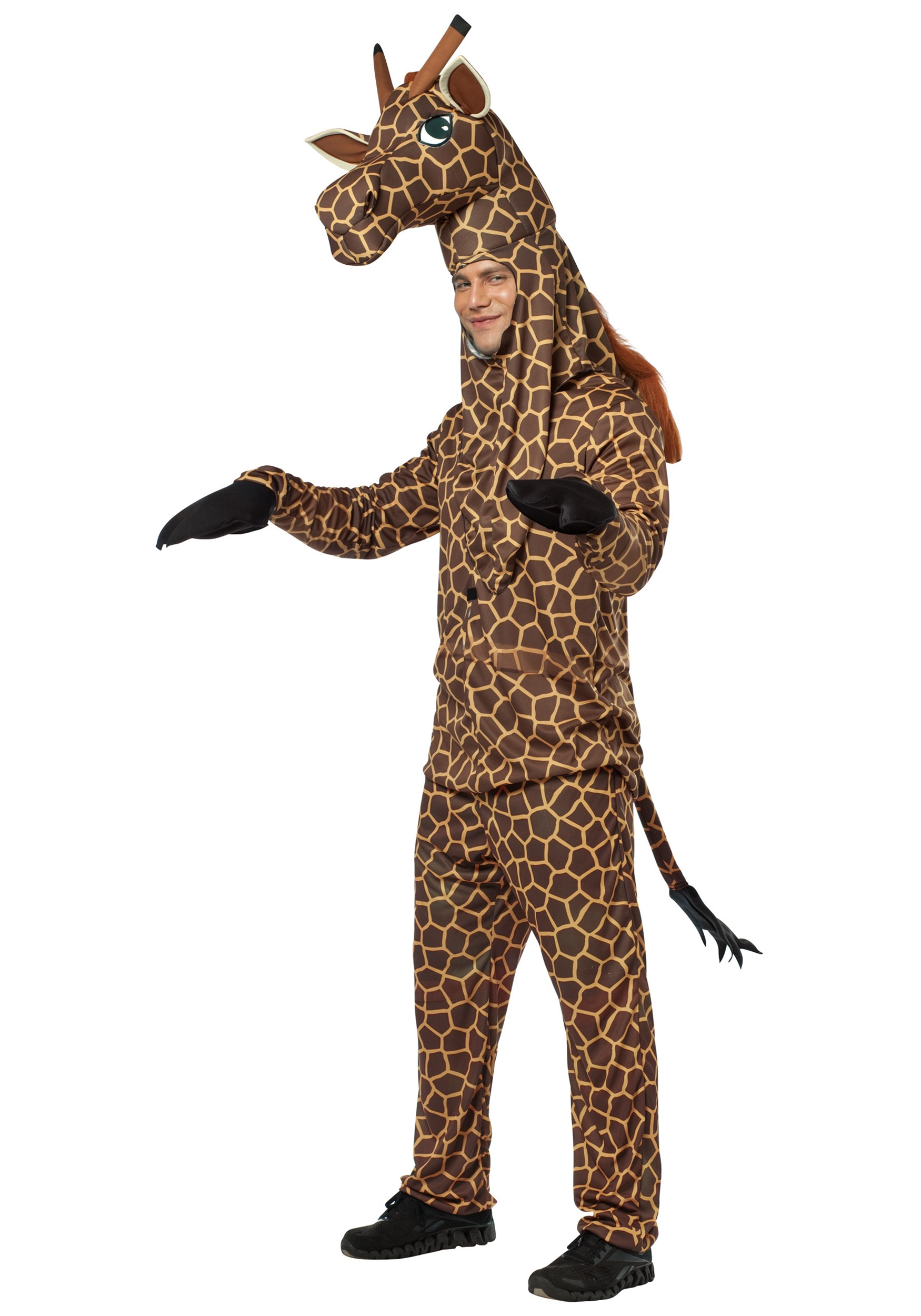 a27a761b3bb6 Adult Safari Giraffe Costume - Mens Zoo Animal Costume Ideas