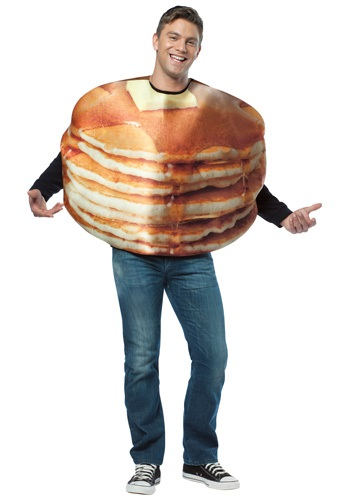 Stacked Pancakes Costume