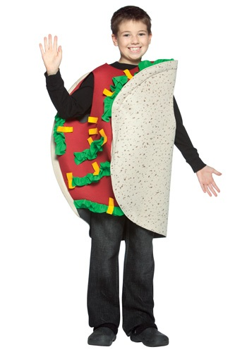 Child Spicy Taco Costume