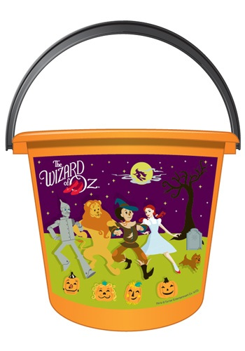 Cartoon Character Wizard of Oz Candy Pail