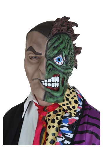 Two Face Villain Mask