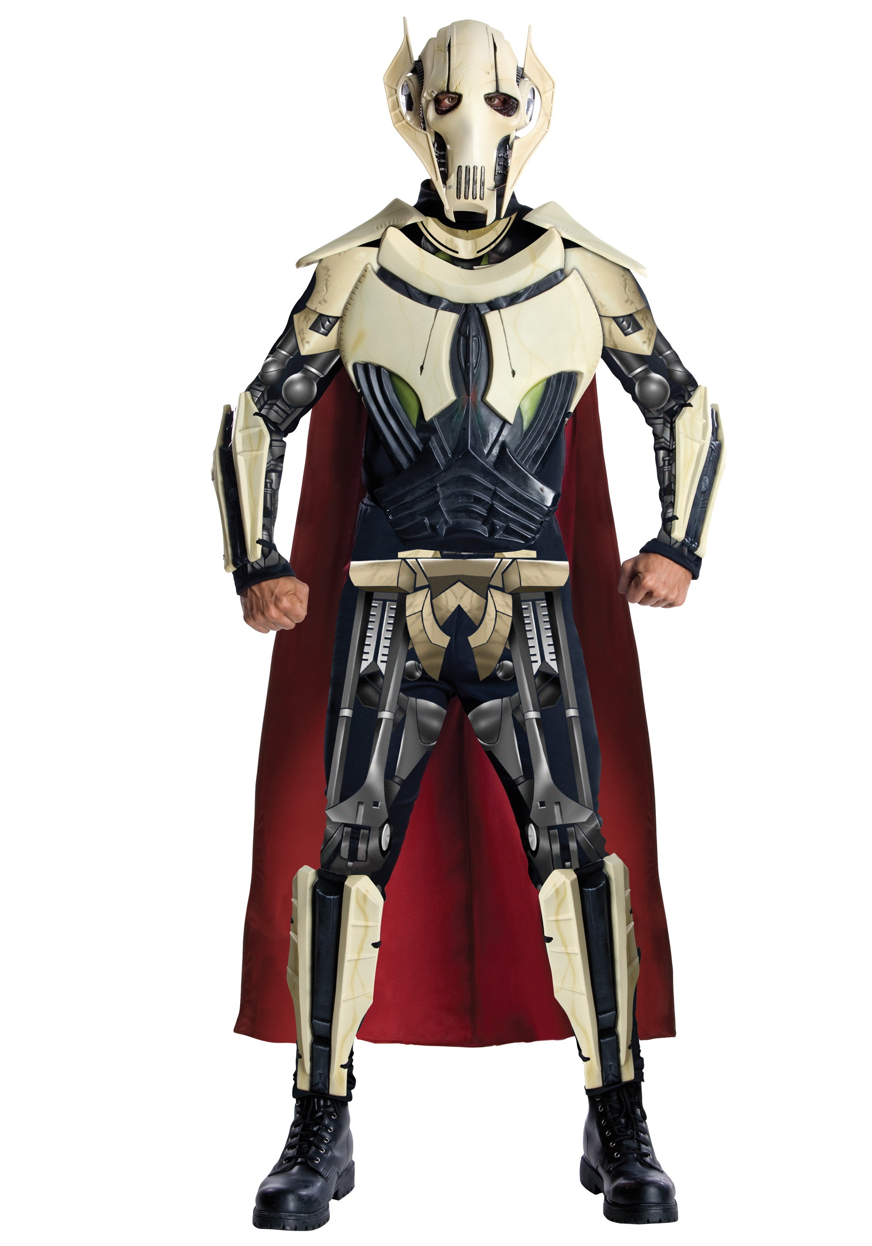 Adult Deluxe Clone Wars General Grievous Costume  sc 1 st  Halloween Costume & Adult Deluxe Clone Wars General Grievous Costume - Mens Star Wars ...