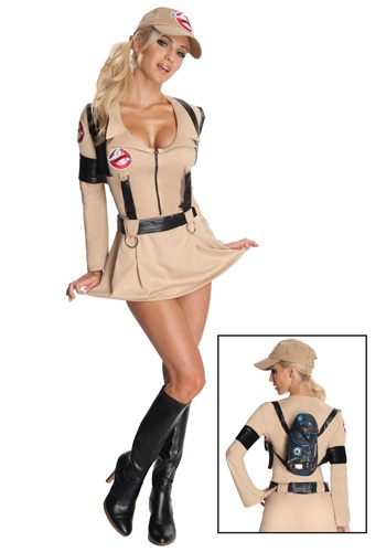 Sexy Female Ghostbuster Costume