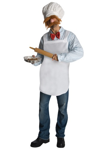 Funny Swedish Muppet Chef Costume