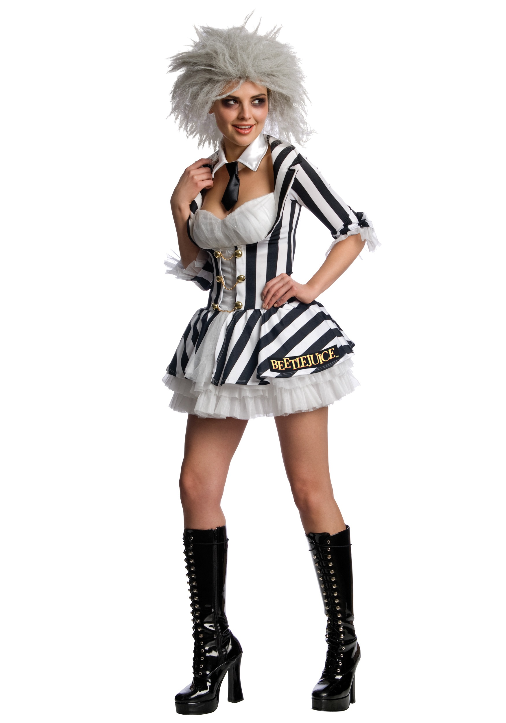 Sexy Ms Beetlejuice Costume - Women's Sexy, Scary Movie Costume Ideas