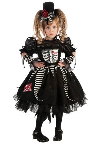 Girls Boney Bride Costume