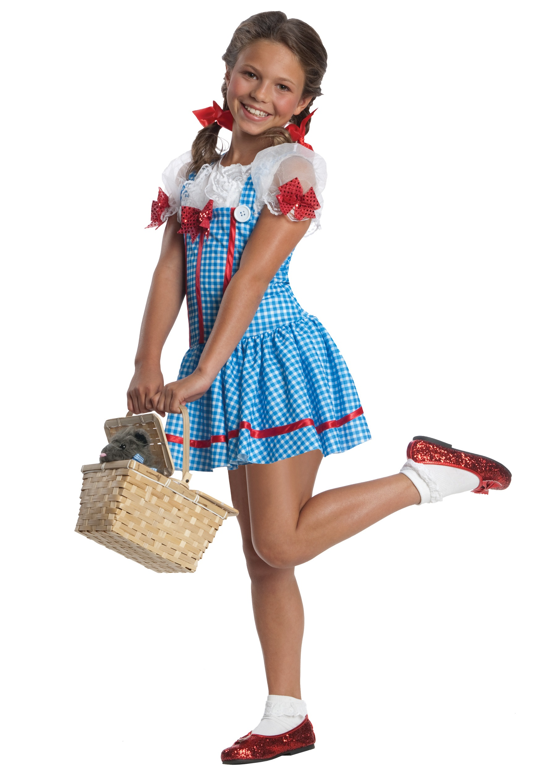girls classic dorothy costume - child wizard of oz costumes ideas
