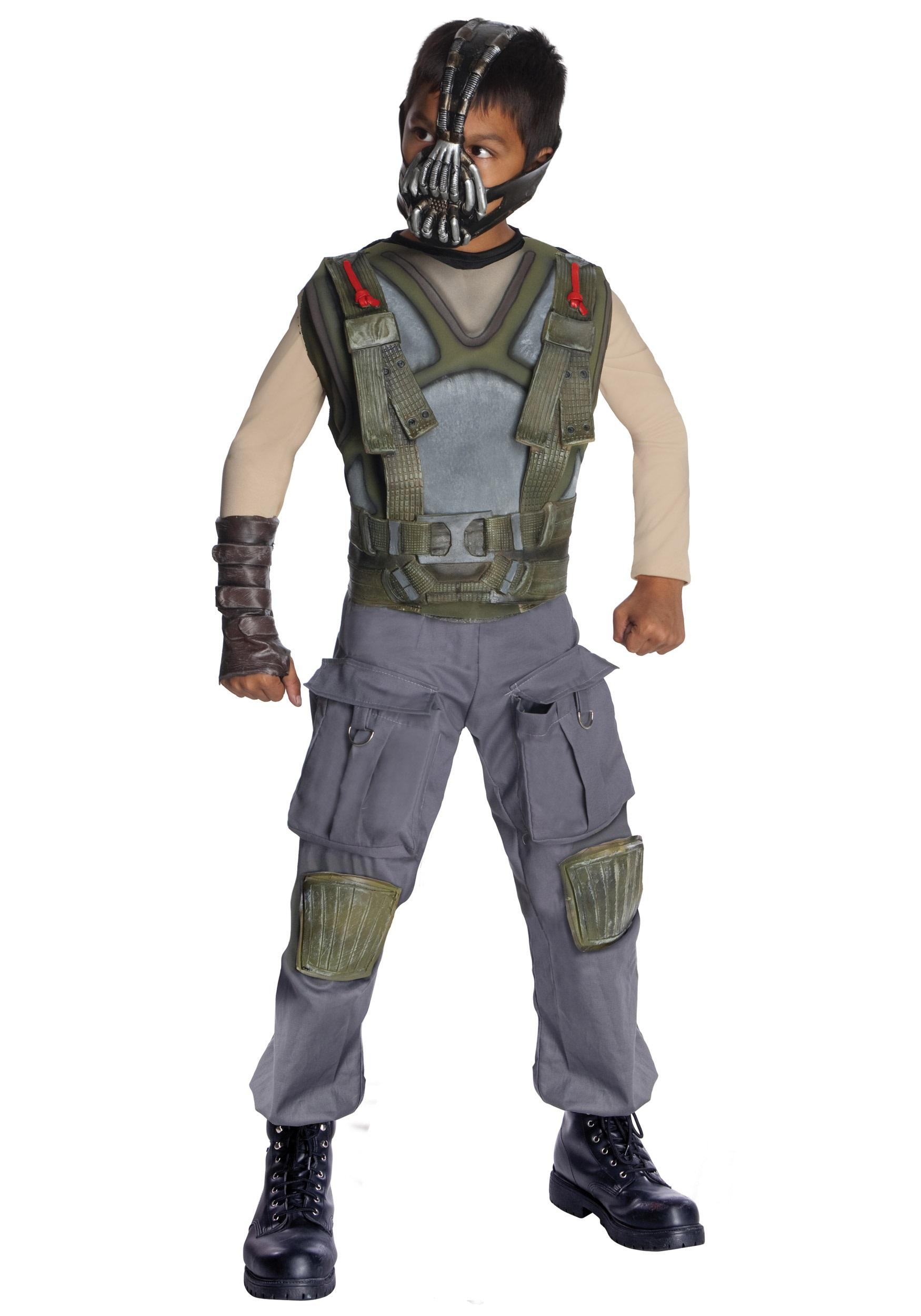 Boys Deluxe Dark Knight Bane Costume  sc 1 st  Halloween Costume & Boys Deluxe Dark Knight Bane Costume - Children Batman Villain ...
