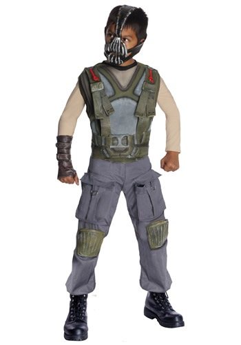 Boys Deluxe Dark Knight Bane Costume
