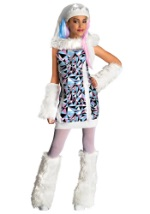 Girls Abbey Bominable Monster Costume