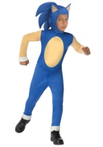 Child Sonic Video Game Character Costume