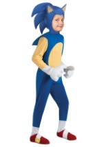 Boys Deluxe Retro Sonic Costume