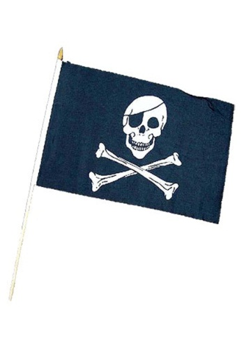 Skull & Crossbones Jolly Roger Flag