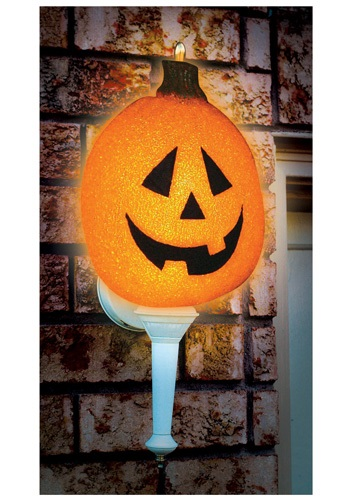 Shining Pumpkin Porch Light Cover
