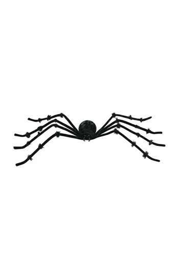 Poseable Black 50 inch Spider