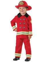 Toddler Little Firefighter Costume