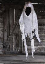 Hanging Faceless Ghoul w/ Lantern