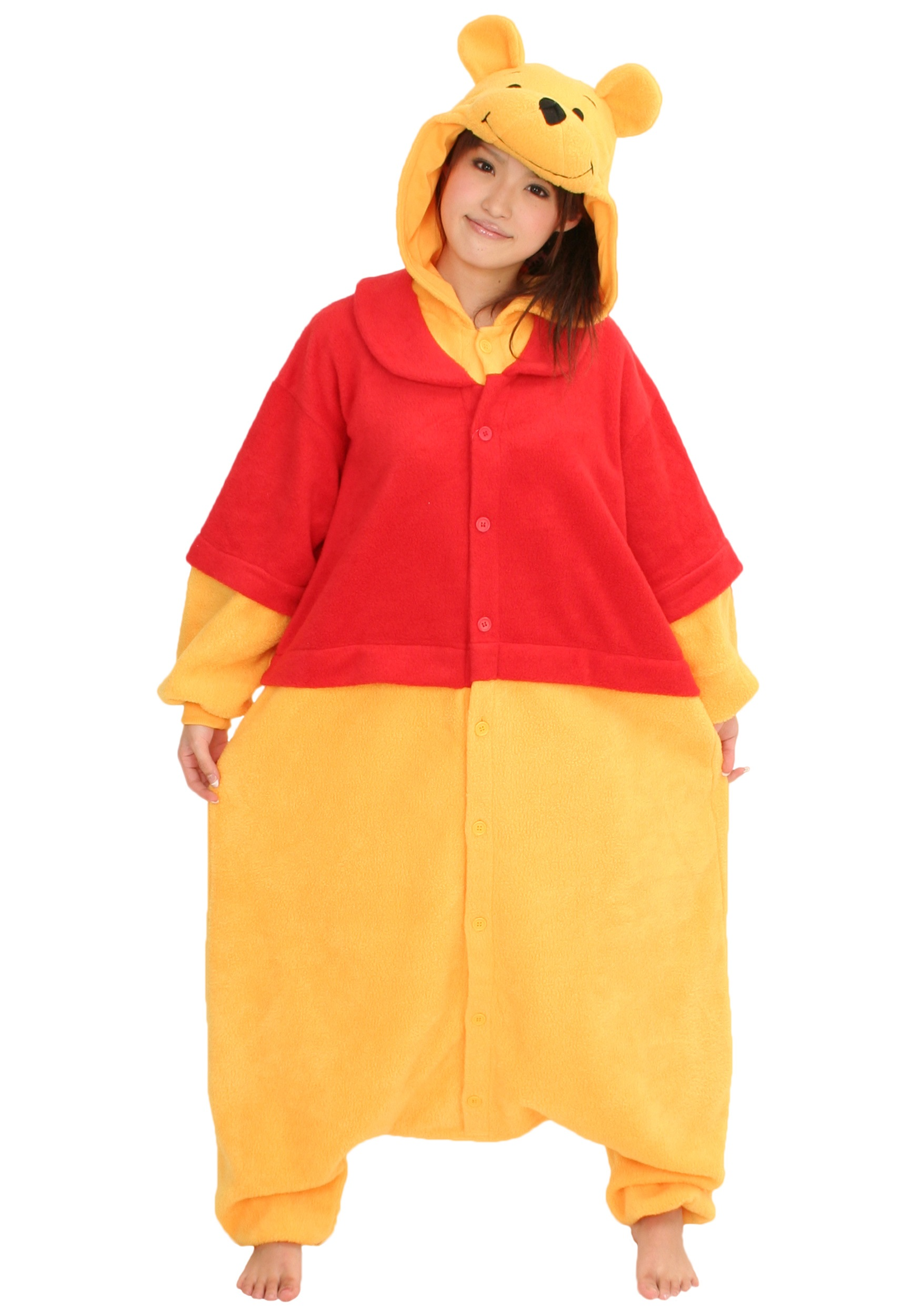 d703ddfe8a82 Winnie the Pooh Pajama Costume - Disney Character Pajama Costume Ideas