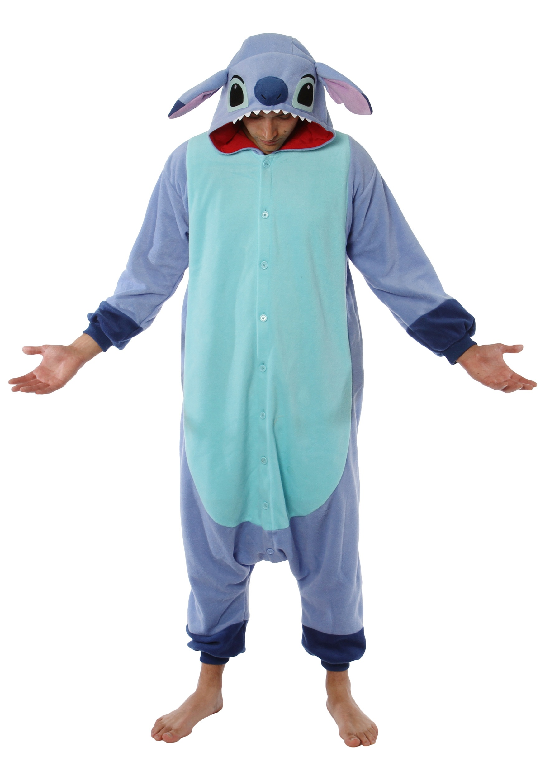Disney Stitch Pajama Costume - Movie Character Pajama ...