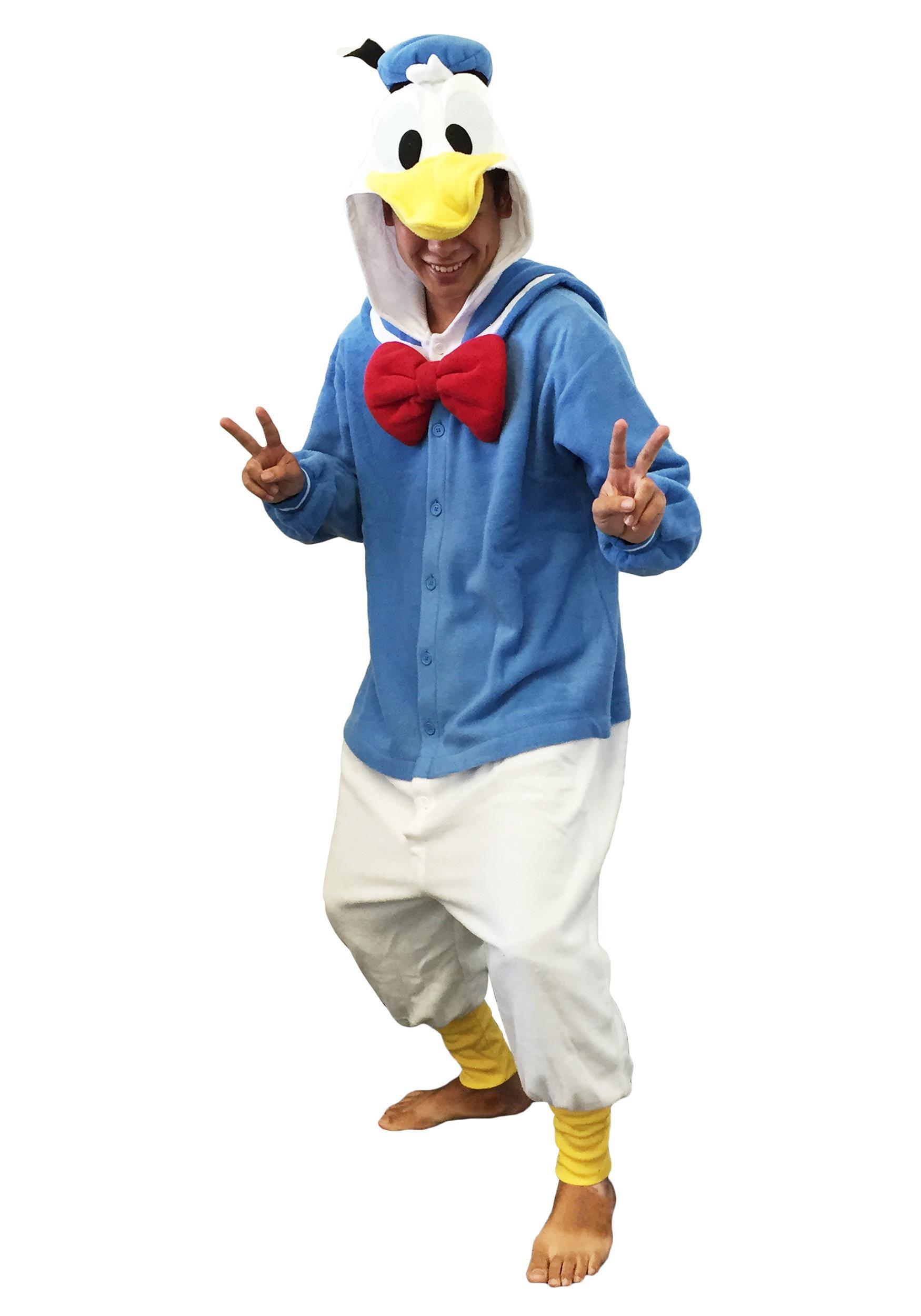 ... Disney Donald Duck Pajama Costume ...  sc 1 st  Halloween Costume & Disney Donald Duck Pajama Costume - PJ Character Costumes