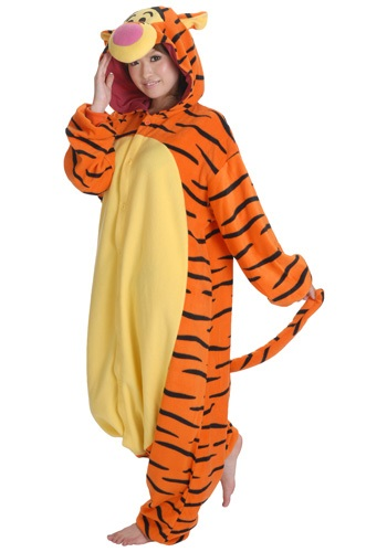 Bouncy Tigger Pajama Costume