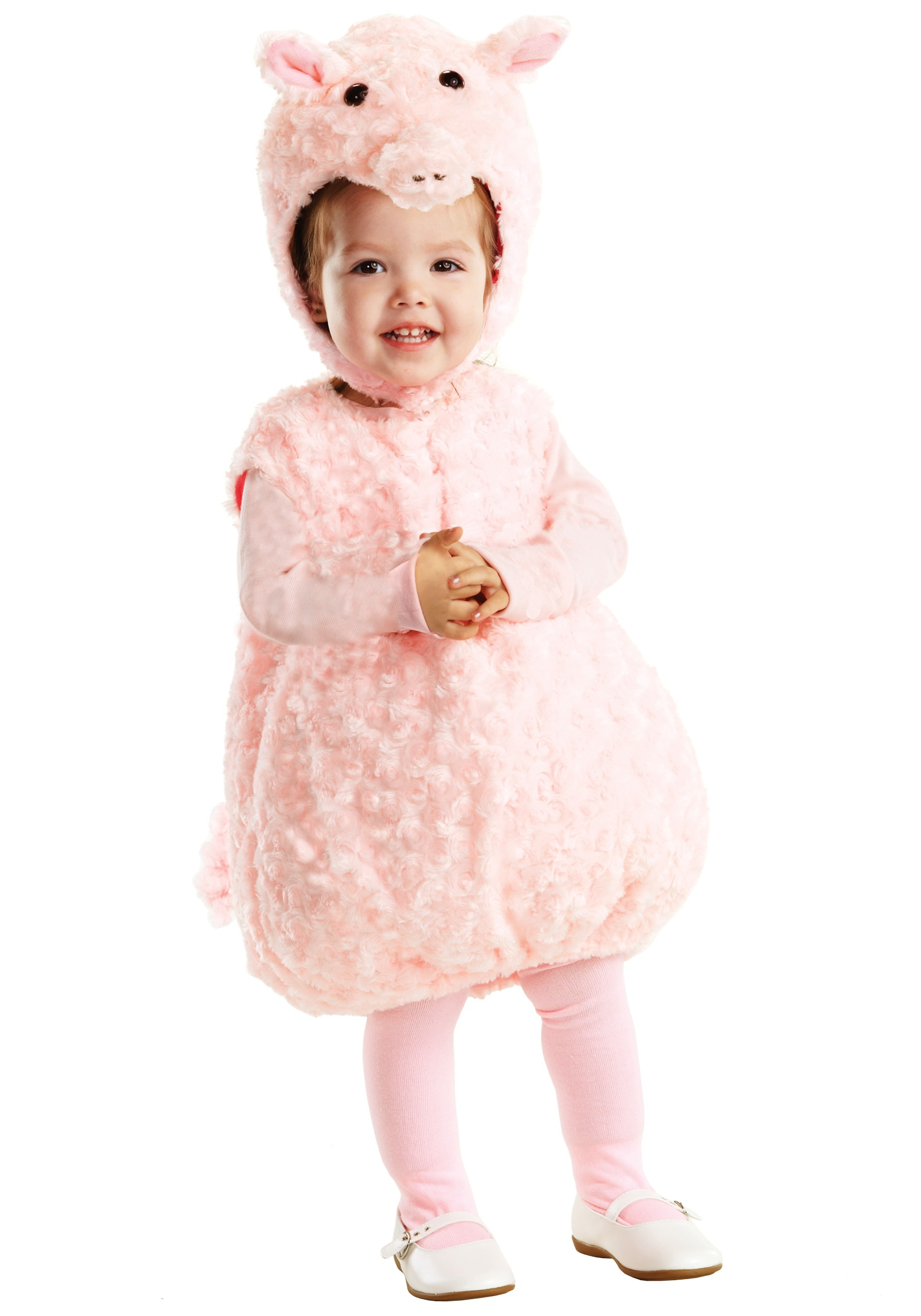 Toddler Pink Lil Piggy Costume  sc 1 st  Halloween Costume & Toddler Pink Lil Piggy Costume - Child Baby Farm Animal Costume Ideas