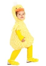 Toddler Fluffy Duck Costume